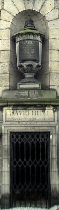 David Hume Monument (detail), Calton Hill, Edinburgh